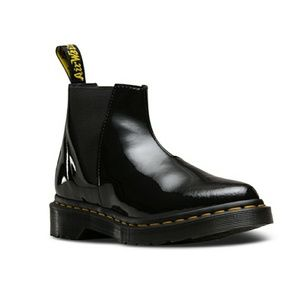 ❣Flash Sale❣Dr. Martens Bianca Patent Leather Boot